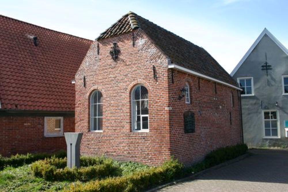 Plaquette Voormalige Synagoge Nieuweschans