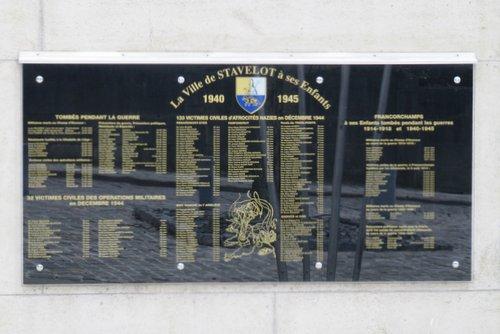 Gedenkplaats Stavelot