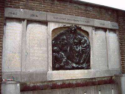 War Memorial Opgeëistenlaan Ghent