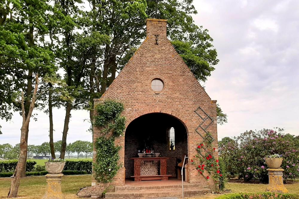 Memorial Fallen Soldiers by Chapel Terheijden
