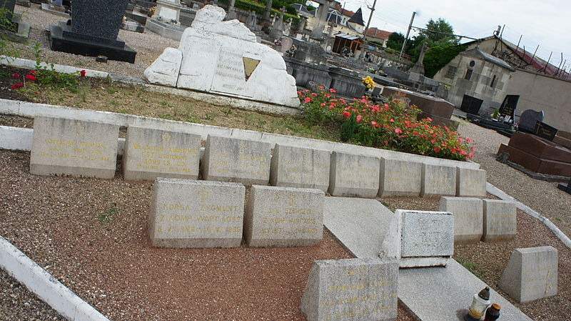 Graves of veterans and deported toul toul for Toul lorraine