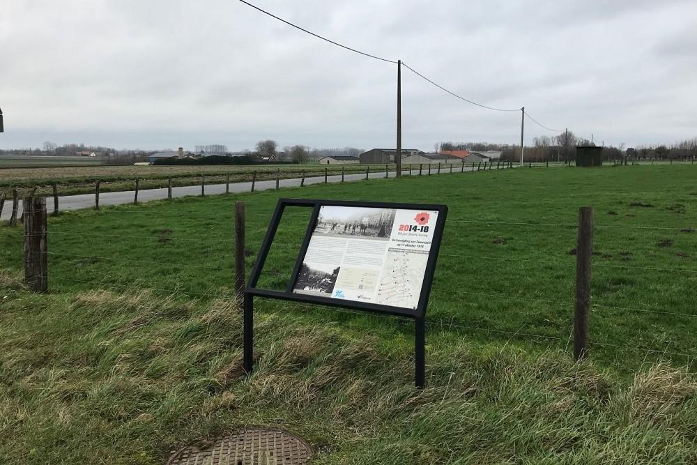 Cycle Route Battle of the Ringbeek, Information Board Heulstraat