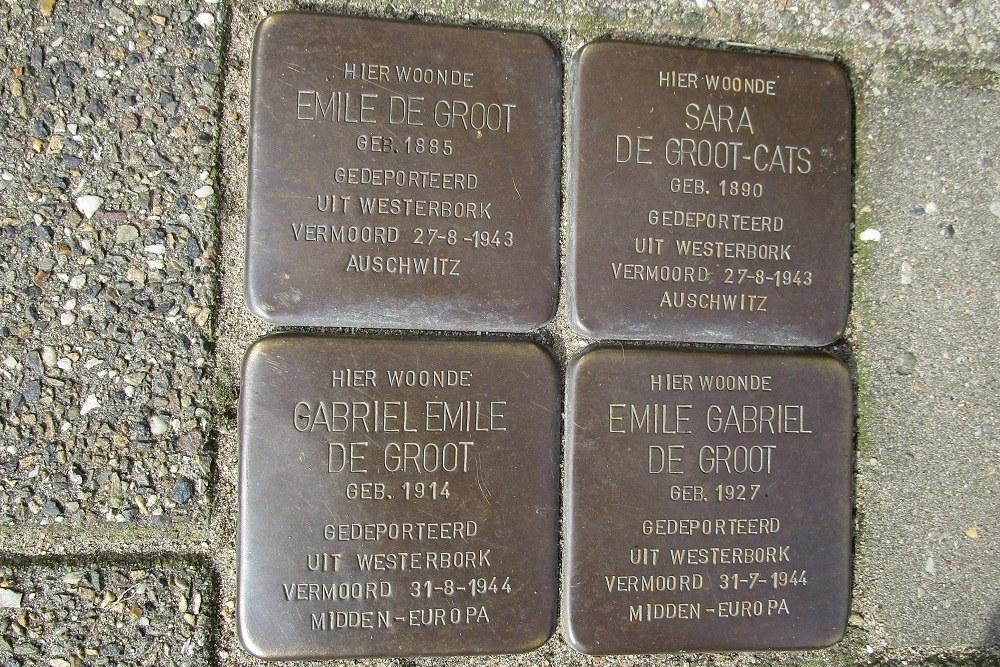 Remembrance Stones Lange Nieuwstraat 49 a