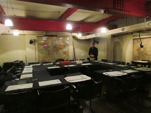 Churchill museum and cabinet war rooms london - Churchill war cabinet rooms ...