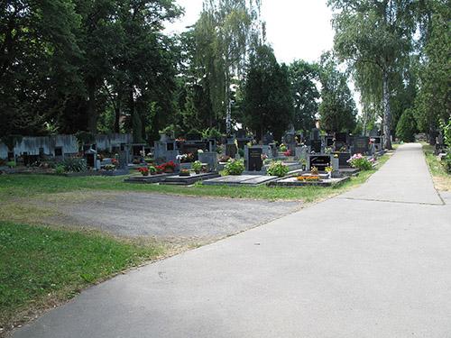 Tsjechische Oorlogsgraven Begraafplaats Vinor