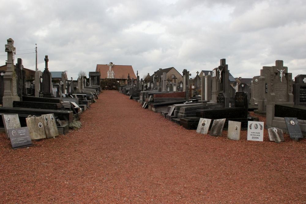 Commemorative Plates War Victims Wijtschate