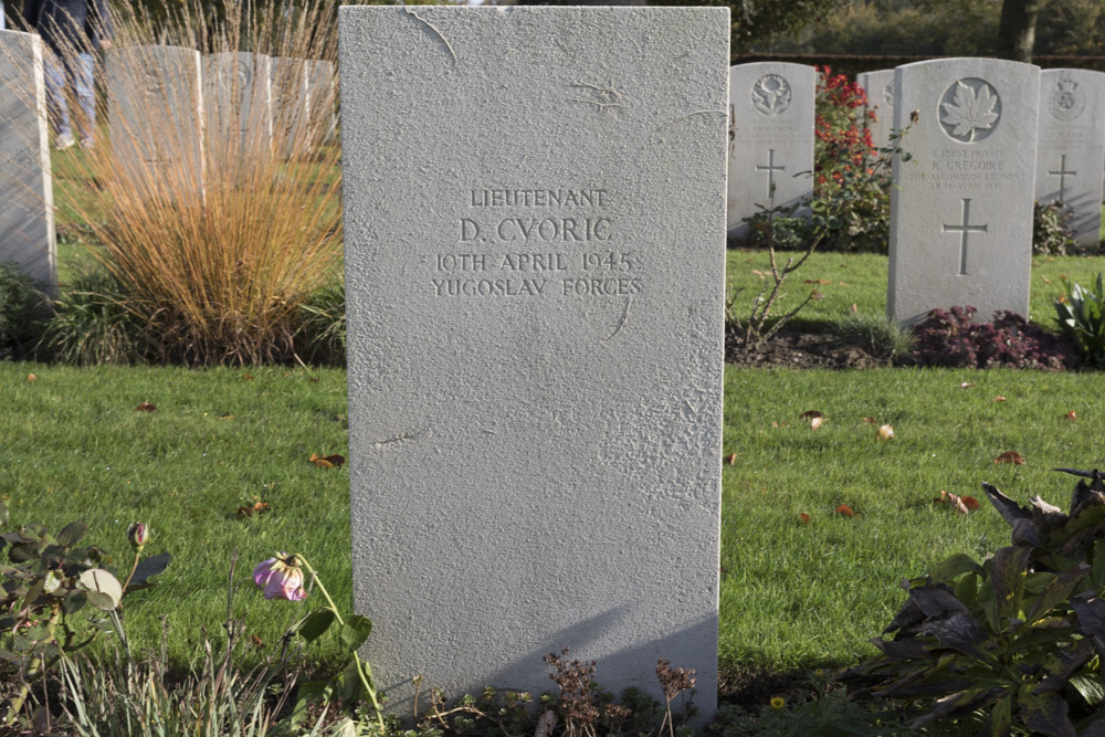 Yugoslavian War Grave Canadian War Cemetery Groesbeek