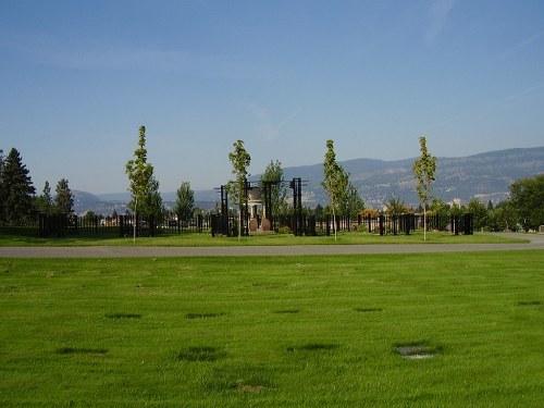 Commonwealth War Graves Kelowna Memorial Park Cemetery