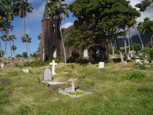 Commonwealth War Graves Basseterre