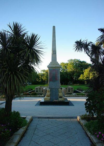 War Memorial Busselton