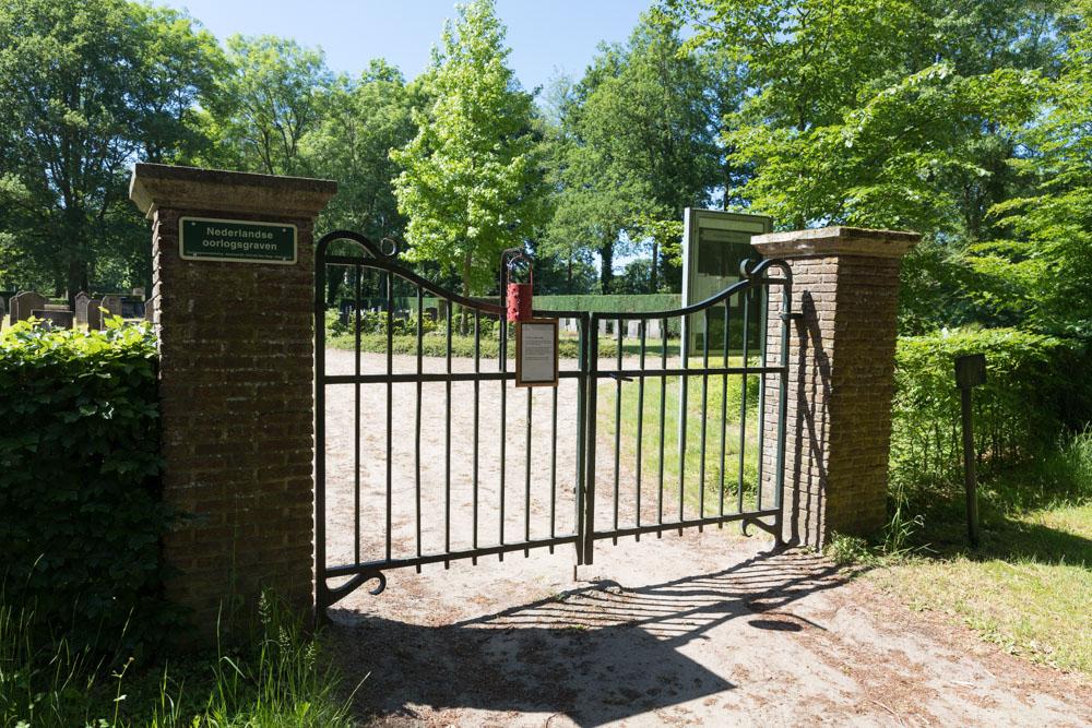 Nederlandse Oorlogsgraven Gemeentelijke Begraafplaats Heino