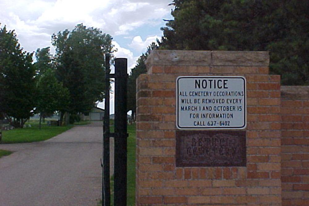 Amerikaans Oorlogsgraf Beth El Cemetery