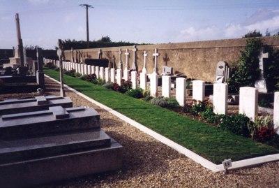 Commonwealth War Graves Prefailles