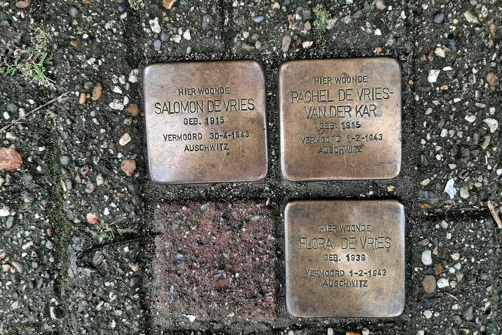 Stumbling Stones Nieuwe Prinsengracht 114