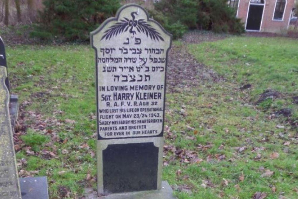 Oorlogsgraf van het Gemenebest Joodse Begraafplaats Leeuwarden