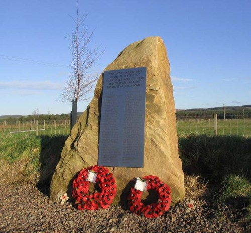 Monument RAF Milfield