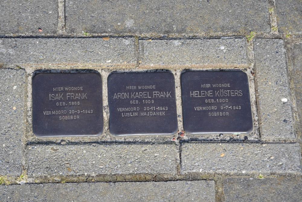 Stumbling Stones Gramsbergerweg 8