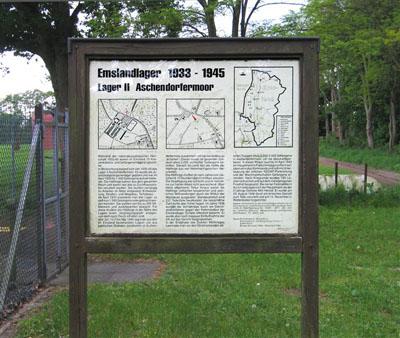 Strafkamp Aschendorfermoor (Emslandlager II)