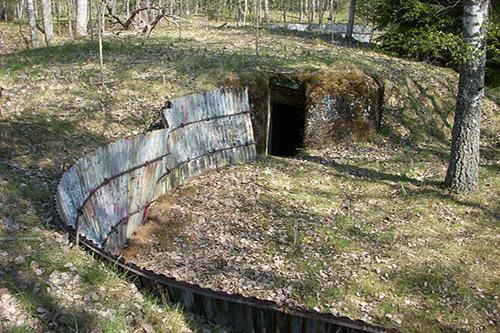 Skavlinie - Artilleriestelling