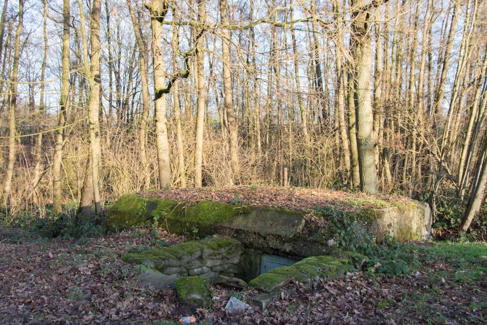 German Bunkers Stellung Antwerp-Turnhout Wieltjes Turnhout