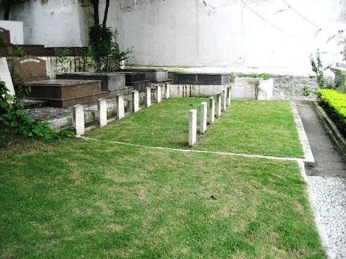 Commonwealth War Graves Gamboa British Cemetery