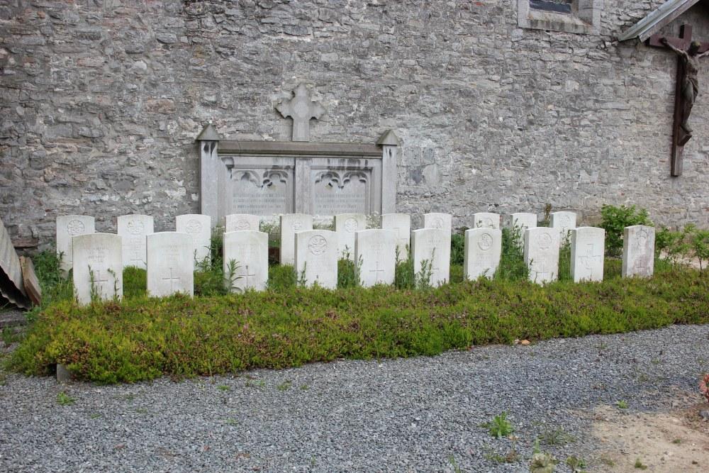 Oorlogsgraven van het Gemenebest Ramegnies-Chin
