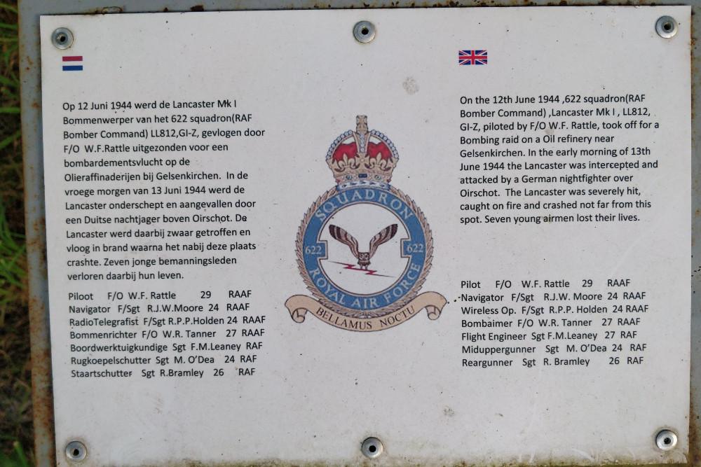 Memorial Lancaster MK I  LL812