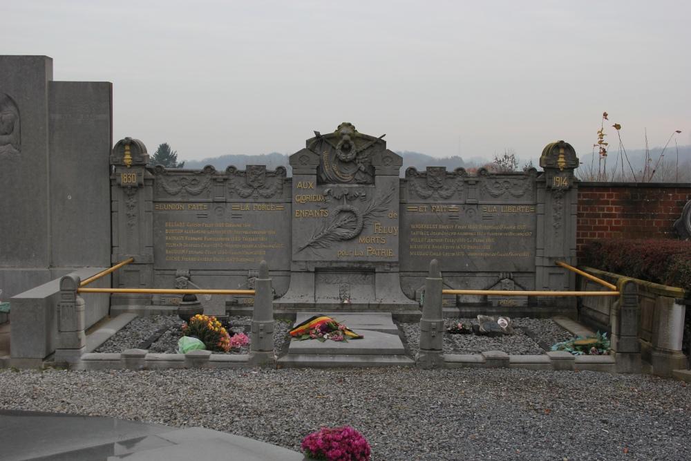 Oorlogsmonument Begraafplaats Feluy