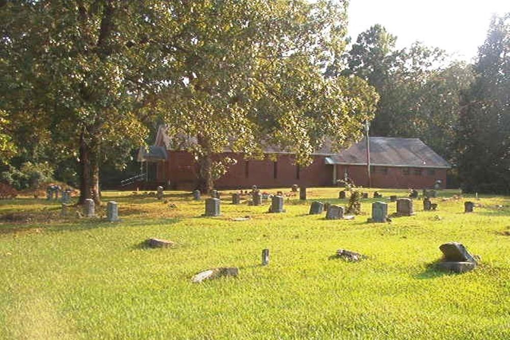 Amerikaans Oorlogsgraf Pleasant Grove Cemetery