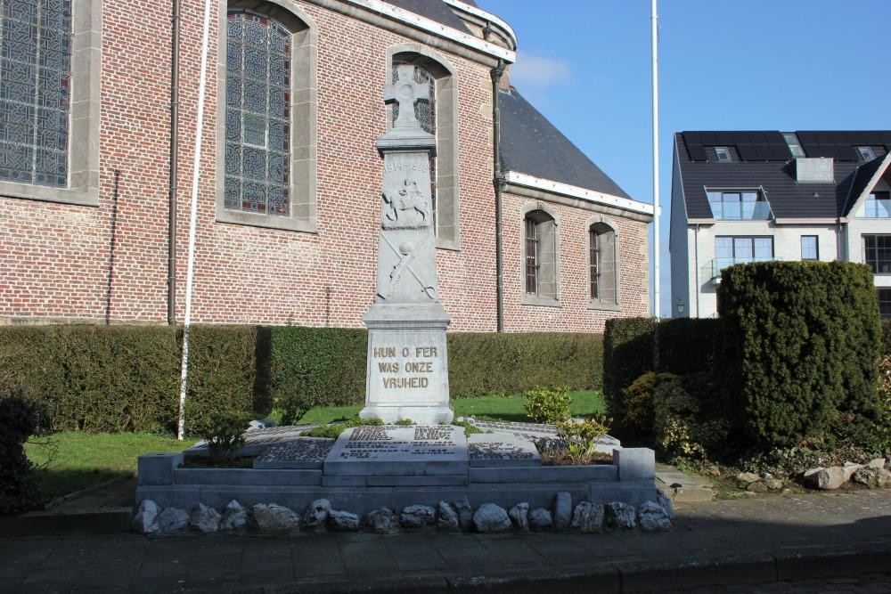 War Memorial Oordegem