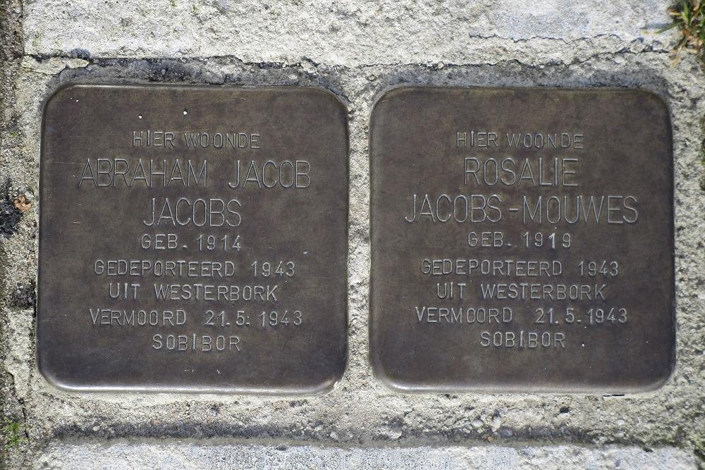Herdenkingsstenen Gualtherus Sylvanusstraat 11