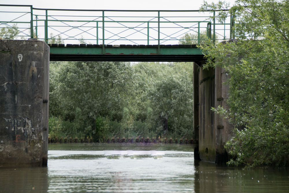 Bridge of Sint Jan & Plaque Drimmelen