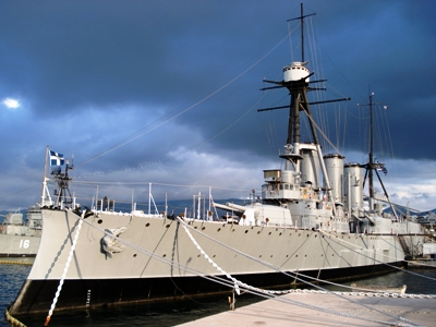 Museumship Armored Cruiser Georgios Averof