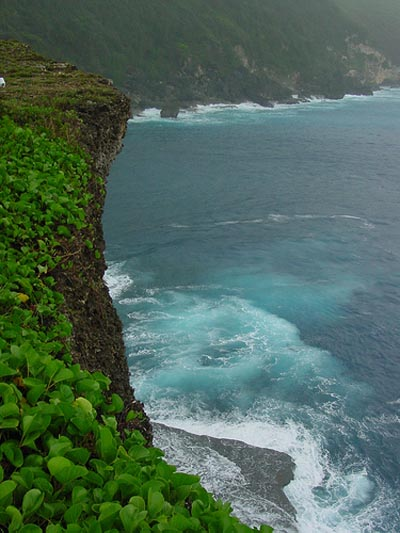 Suicide Cliff Tinian