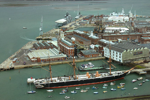 Royal Navy Portsmouth Historic Dockyard