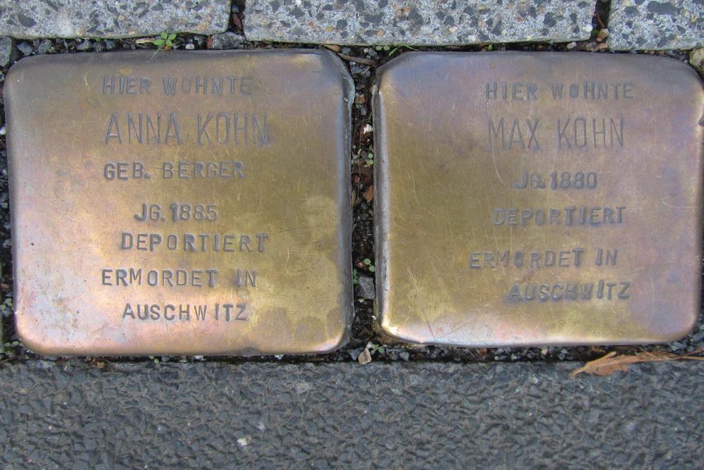 Stumbling Stones Eifelstraße 10