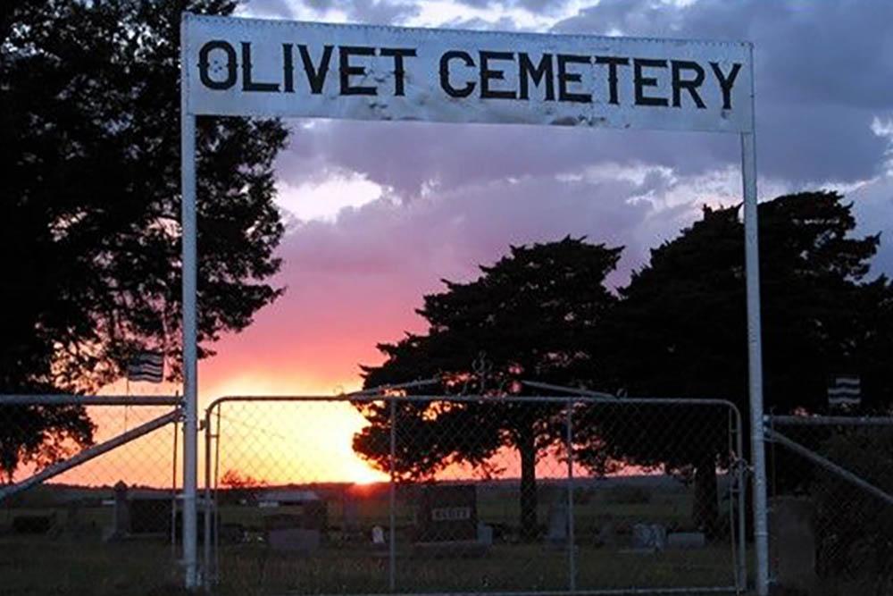 American War Grave Olivet Cemetery