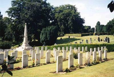 Oorlogsgraven van het Gemenebest Ipswich Old Cemetery