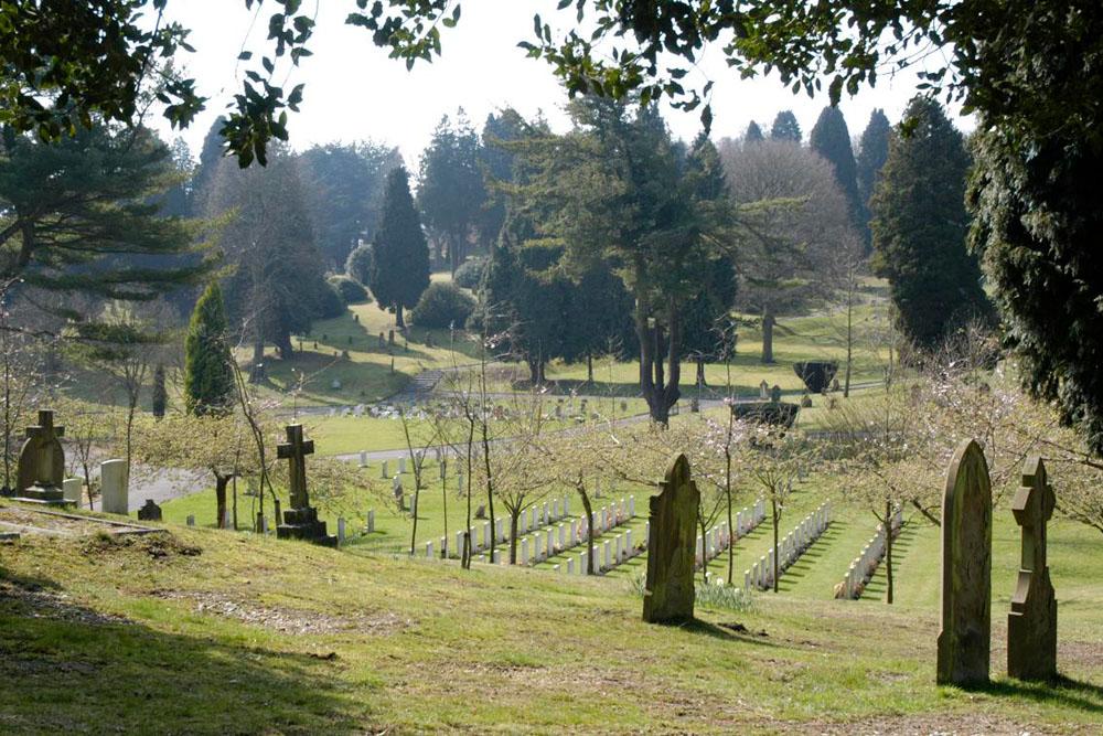 Sovjet Oorlogsgraf Aldershot Military Cemetery