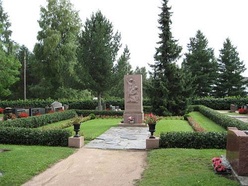 Mass Grave Finnish Soldiers Kiikala