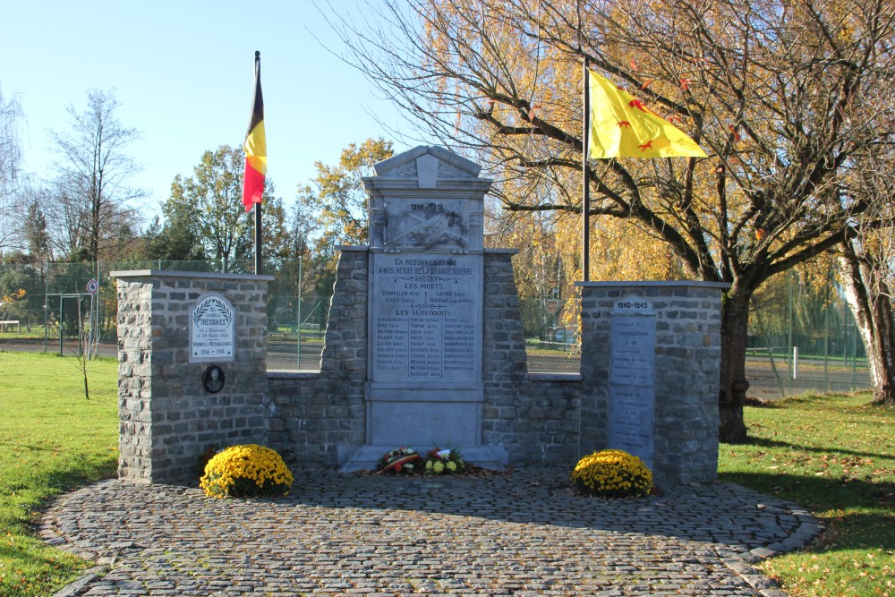 War Memorial Bierghes