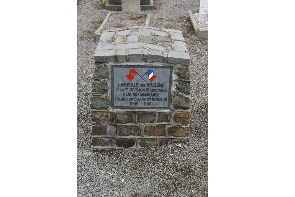 Monument 1e Marokkaanse Divisie Perwez