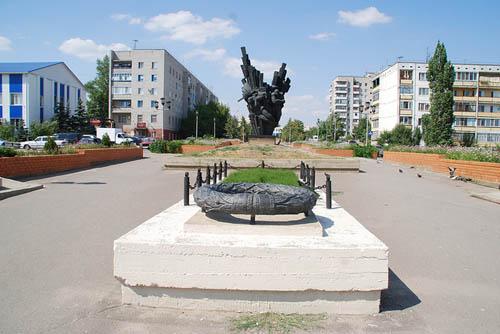 Mass Grave Soviet Soldiers Gorodishche