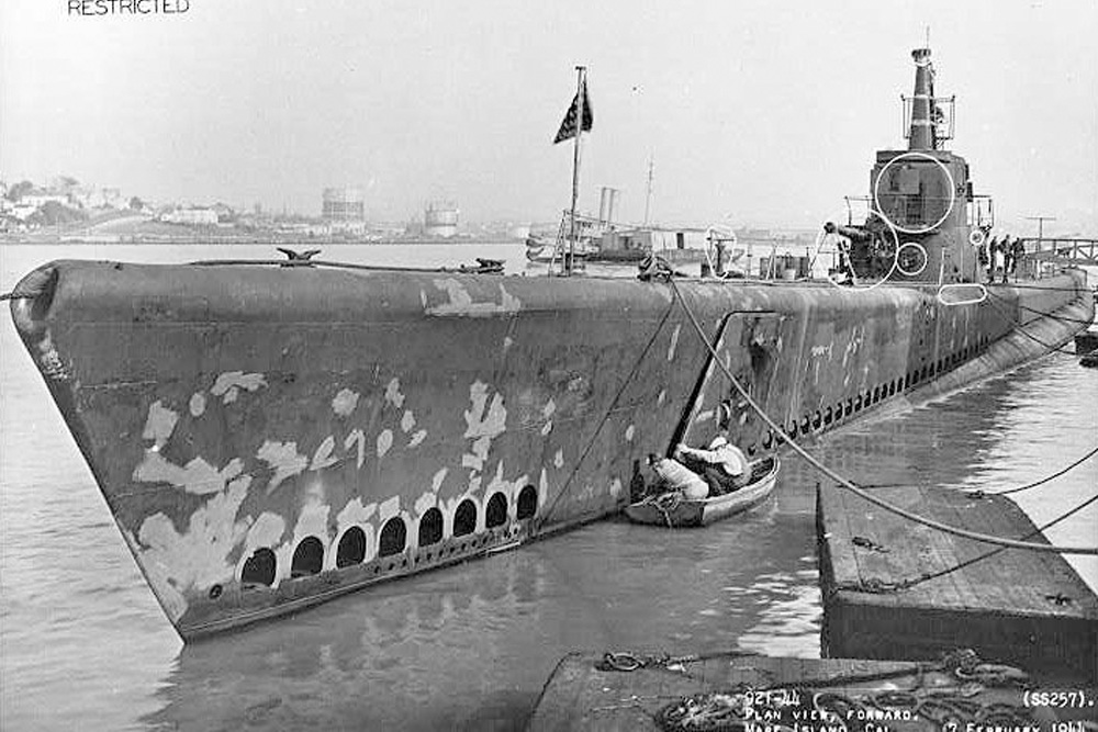 Scheepswrak U.S.S. Harder (SS-257)