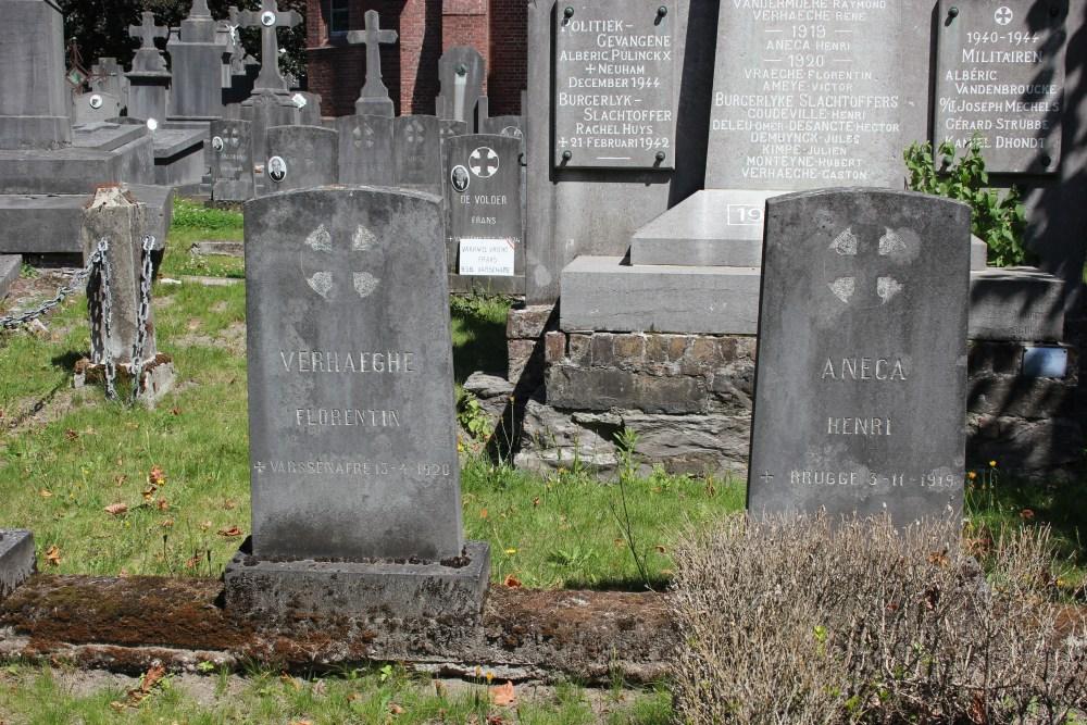 Belgian War Graves Varsenare