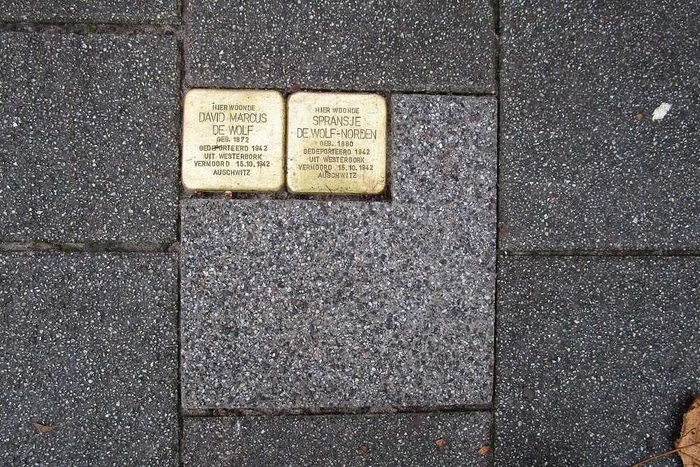Stumbling Stones Boezemsingel 25A