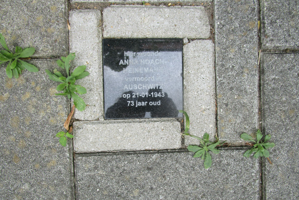 Memorial Stone Spoorstraat 33