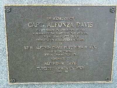 Plaque Alphonza Davis