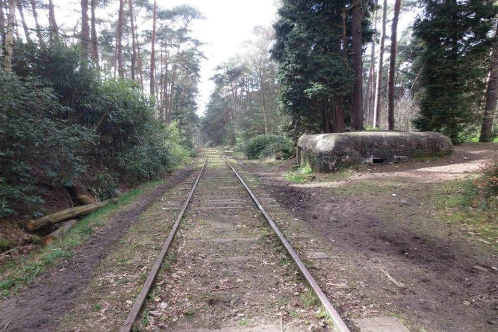 Stellung Antwerpen - Railway