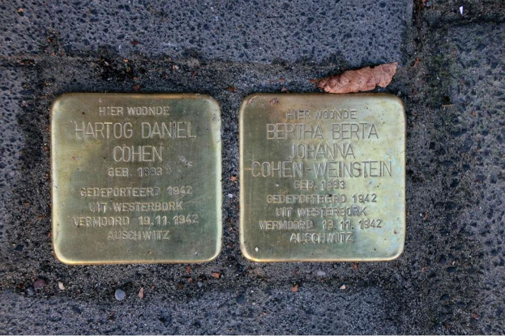Stumbling Stones H.W. Mesdagstraat 46A